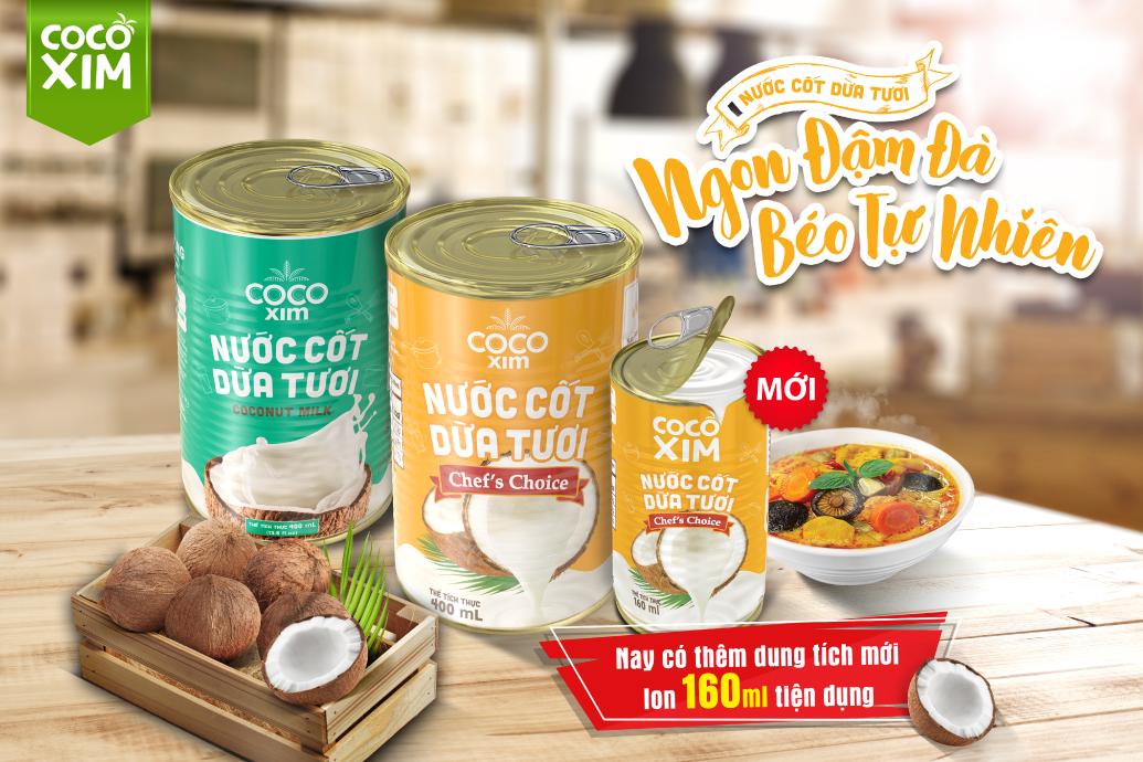 Nước cốt dừa tươi Cocoxim Chef's Choice