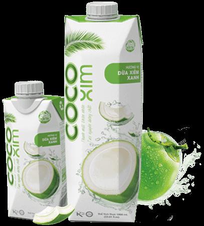 Nước dừa xiêm xanh