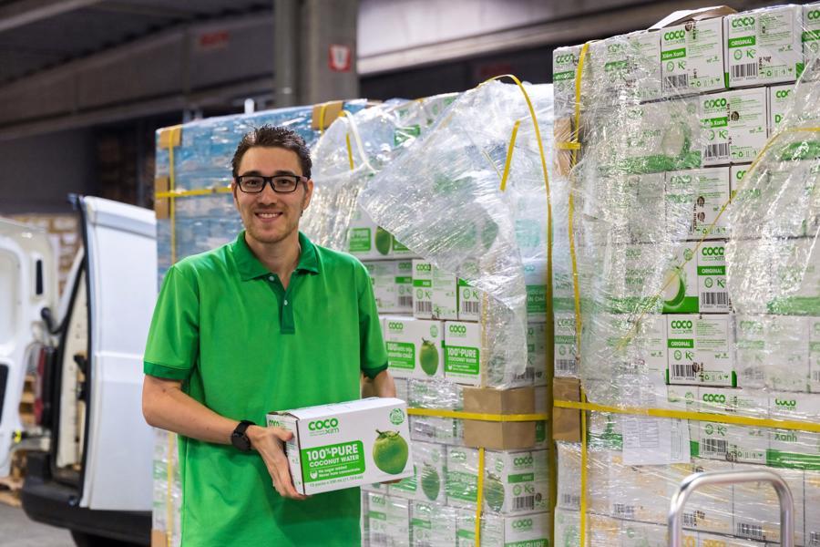 Đến nay, cứ vài tháng, công ty South Export Alliance lại nhập từ Betrimex một container 20ft sản phẩm (25 tấn).