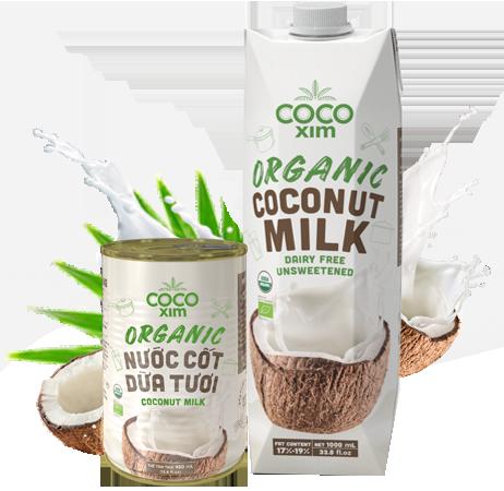 Nước cốt dừa tươi Organic